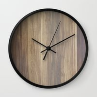wood Wall Clocks featuring Wood  by Words N Quotes