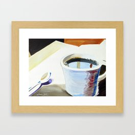 Morning Brew Framed Art Print