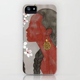 cherry blossom girls iPhone Case