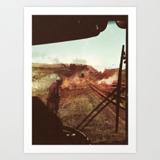End Of The Road Art Print
