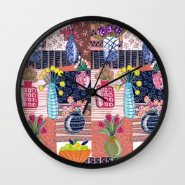 Painterly Painting Wall Clock
