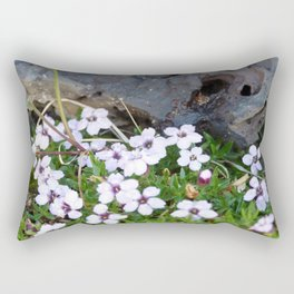 Volcanic flowers Rectangular Pillow