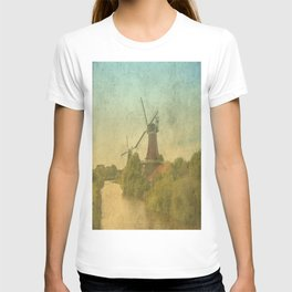 Landscape with mills T-shirt