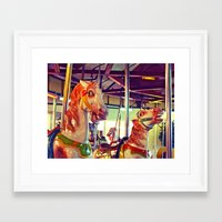 racing Framed Art Prints featuring Still racing by Vorona Photography