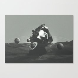 Orbits Canvas Print
