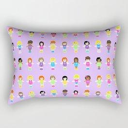 Polly Pocket Rectangular Pillow