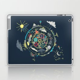 Running Like Clockworld Laptop & iPad Skin
