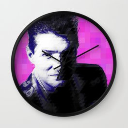 Falco Pixelated Wall Clock