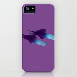 A pair of Arrow Dart-Goby fish iPhone Case