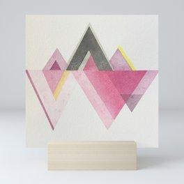 Try-angles Mini Art Print