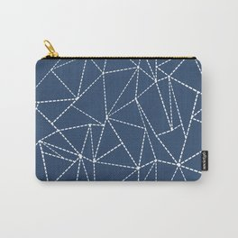 Ab Dotted Lines Navy Carry-All Pouch