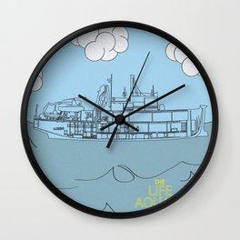 Zissou Boat Wall Clock