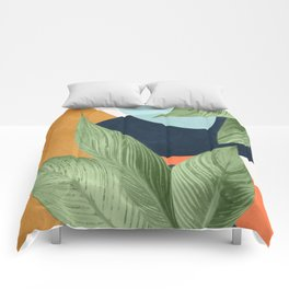 Nature Geometry VIII Comforters