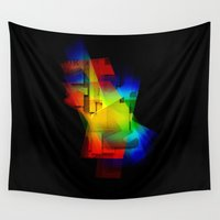 prism Wall Tapestries featuring Prism Cell by Heinz Aimer