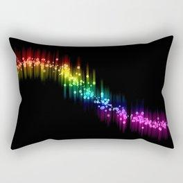 Autotune color Rectangular Pillow