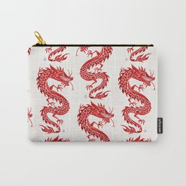 Chinese Dragon – Crimson Palette Carry-All Pouch