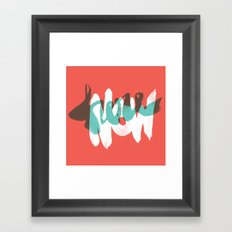 Here Now Framed Art Print