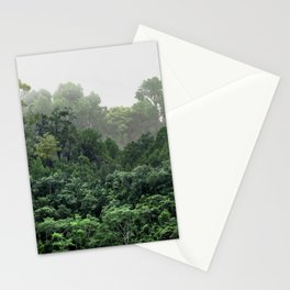 Tropical Foggy Forest Stationery Cards