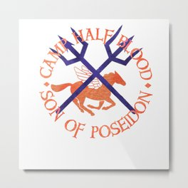 son of poseidon - cabin shirt Metal Print