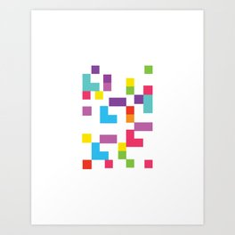 pixli Art Print