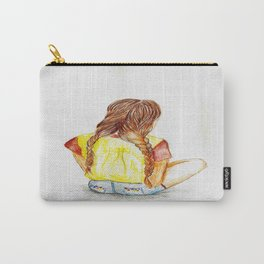 Sitting Around Carry-All Pouch