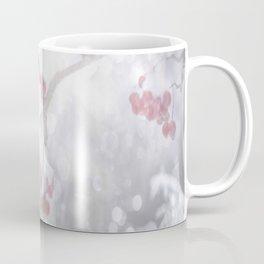 Winter Scene Rowan Berries With Snow And Bokeh #decor #buyart #society6 Coffee Mug
