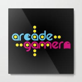 Arcade gamer Metal Print