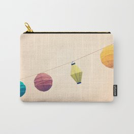 Paper Lanterns Carry-All Pouch