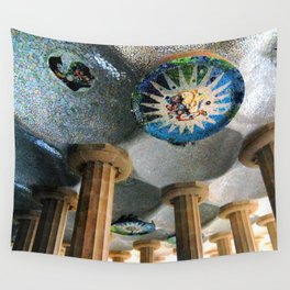Gaudi Series - Parc Güell No. 2 Wall Tapestry