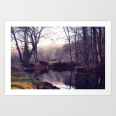 still water Art Print