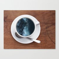 witchoria Canvas Prints featuring Mourning Morning.  by witchoria