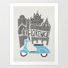 Florence Cityscape Art Print