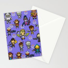 Over watch Stationery Cards