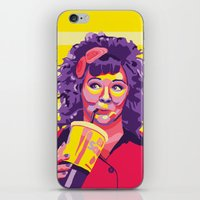melissa smith iPhone & iPod Skins featuring Melissa McCarthy by Rudi Rodebush