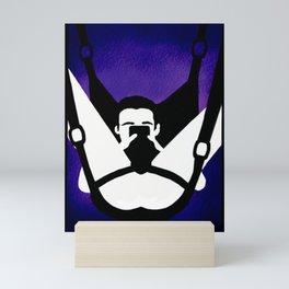 Purple sling Mini Art Print