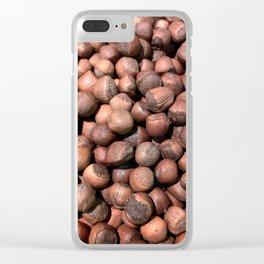 Hazelnut Clear iPhone Case