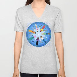 Plea for Peace Unisex V-Neck