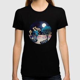 Desert Lake Moonlight T-shirt