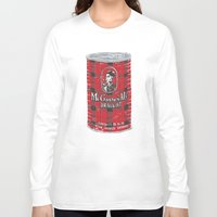 ale giorgini Long Sleeve T-shirts featuring McGraws Ale by Moto
