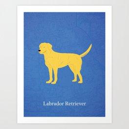 Canadian Dogs: Labrador Retriever Art Print