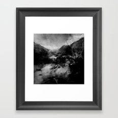 Broken Ground Framed Art Print