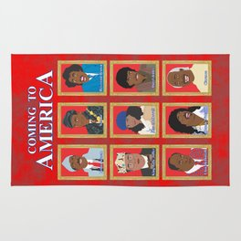 Coming to America Rug