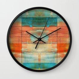 MidMod Art 5.0 Mirror Graffiti Wall Clock