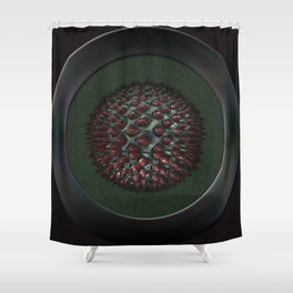 Small fleshy and erectile body Shower Curtain