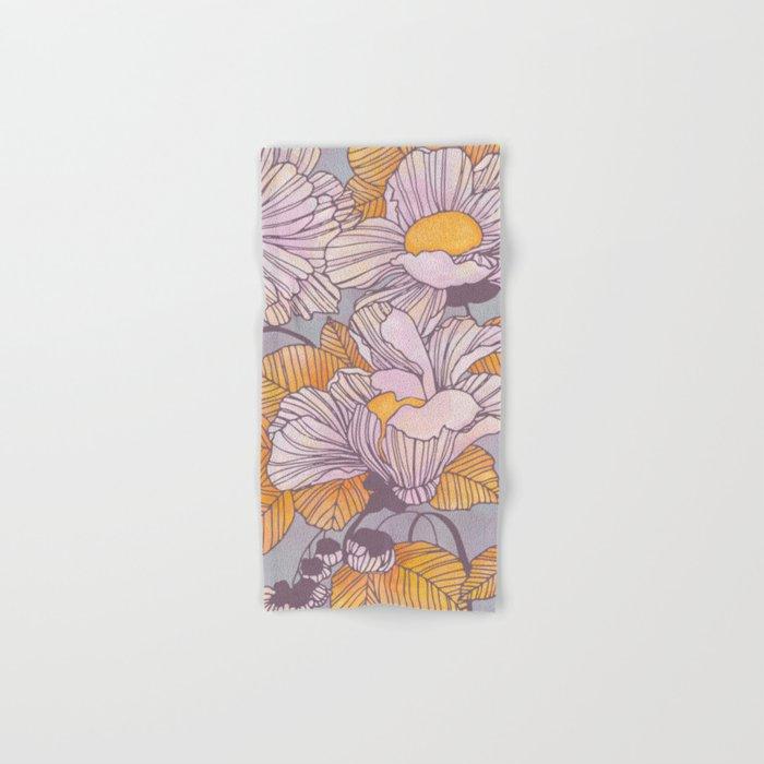 Sun Blossoms Hand & Bath Towel