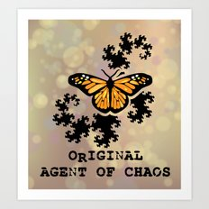 Original Agent of Chaos Art Print