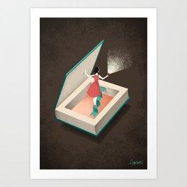 Inquiring Art Print