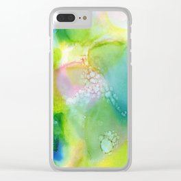 A Burst of Spring 2016 Clear iPhone Case