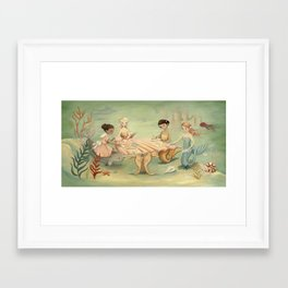 The Mermaid Dream by Emily Winfield Martin Framed Art Print