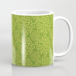 Neo Memphis Coordinate Yellow Green Coffee Mug